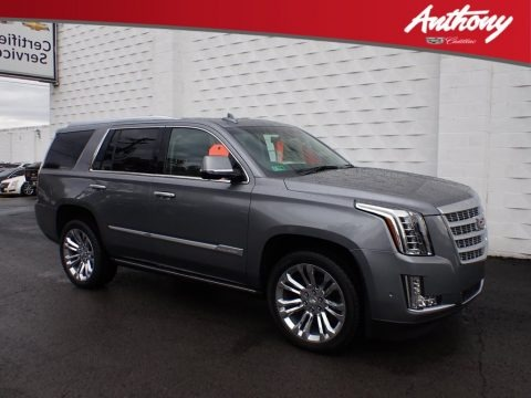 Satin Steel Metallic 2019 Cadillac Escalade Premium Luxury 4WD