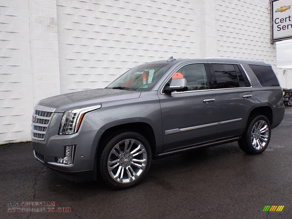 2019 Escalade Premium Luxury 4WD - Satin Steel Metallic / Jet Black photo #2