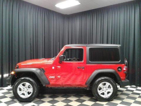 Firecracker Red 2020 Jeep Wrangler Sport 4x4