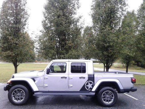 Billet Silver Metallic 2020 Jeep Gladiator Overland 4x4
