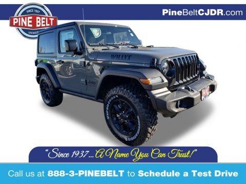 Sting-Gray 2020 Jeep Wrangler Sport 4x4