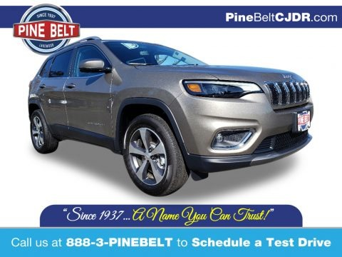 Light Brownstone Pearl 2020 Jeep Cherokee Limited 4x4