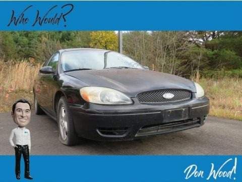 Black 2002 Ford Taurus SE