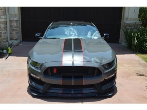 Lead Foot Gray 2018 Ford Mustang Shelby GT350R