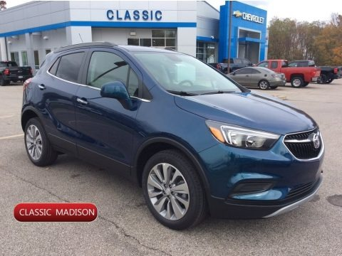 Deep Azure Metallic 2020 Buick Encore Preferred AWD
