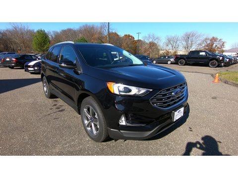 Agate Black 2020 Ford Edge SEL AWD