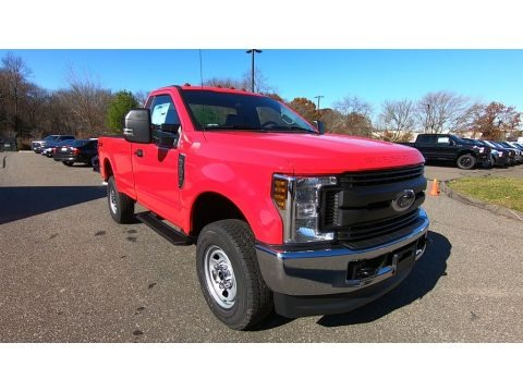 Race Red 2019 Ford F350 Super Duty XL Regular Cab 4x4