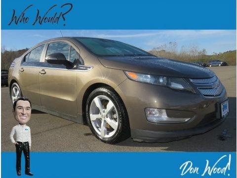 Brownstone Metallic 2014 Chevrolet Volt