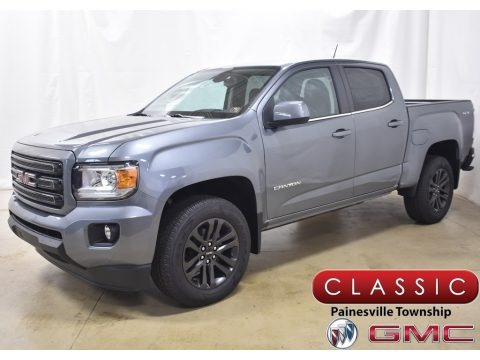 Satin Steel Metallic 2020 GMC Canyon SLE Crew Cab 4WD