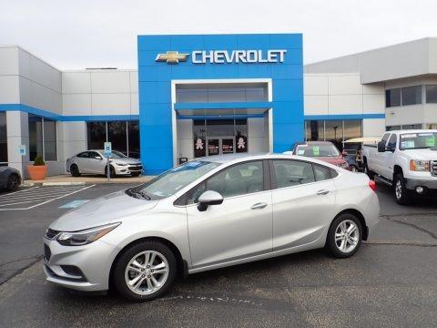Silver Ice Metallic 2016 Chevrolet Cruze LT Sedan