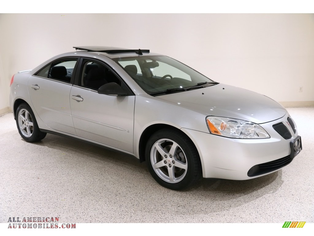 2008 G6 V6 Sedan - Liquid Silver Metallic / Ebony Black photo #1