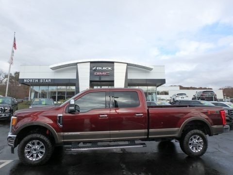 Bronze Fire 2017 Ford F350 Super Duty Lariat Crew Cab 4x4