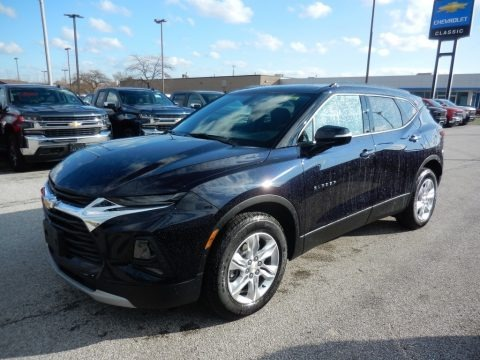 Midnight Blue Metallic 2020 Chevrolet Blazer LT AWD