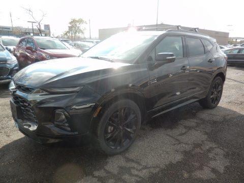 Midnight Blue Metallic 2020 Chevrolet Blazer RS AWD