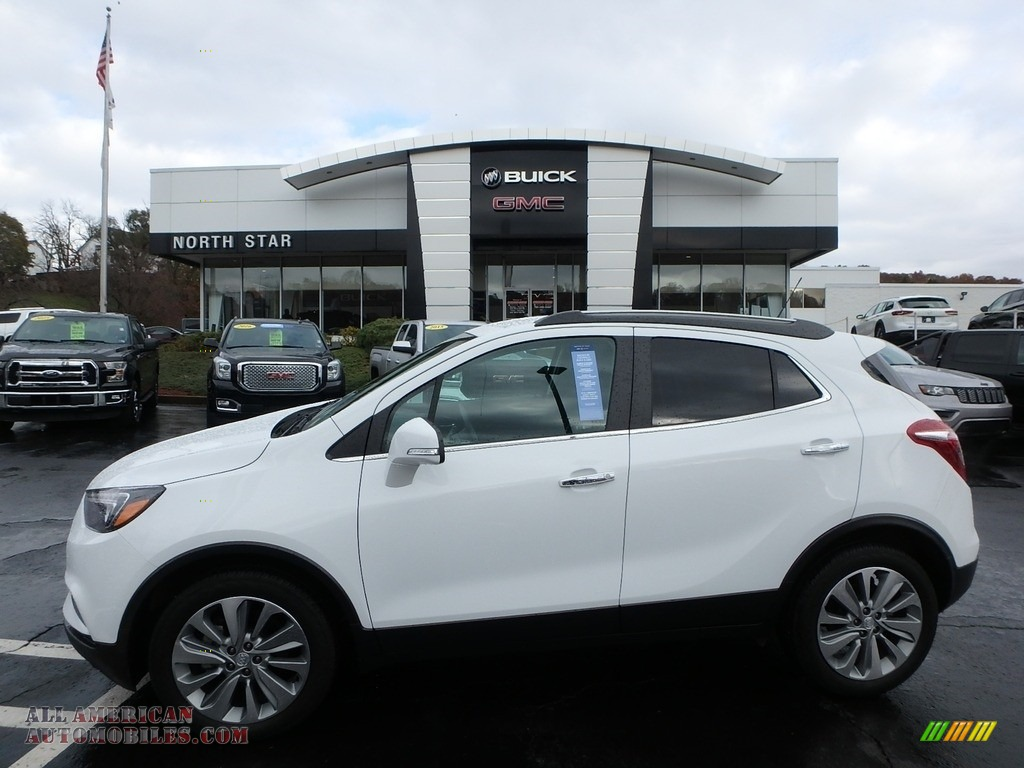 2018 Encore Preferred - Summit White / Ebony photo #1