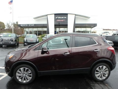 Black Cherry Metallic 2018 Buick Encore Preferred AWD