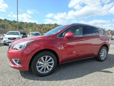 Chili Red Metallic 2020 Buick Envision Essence AWD