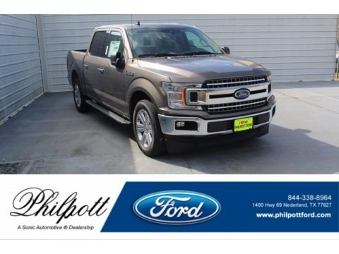 Stone Gray 2020 Ford F150 XLT SuperCrew