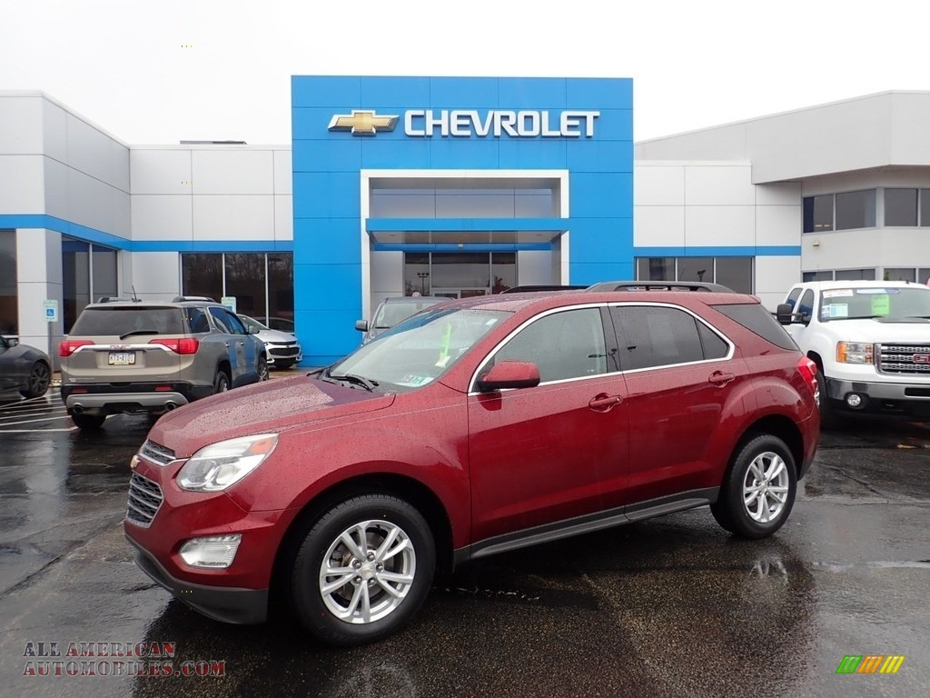 2016 Equinox LT AWD - Siren Red Tintcoat / Jet Black photo #1