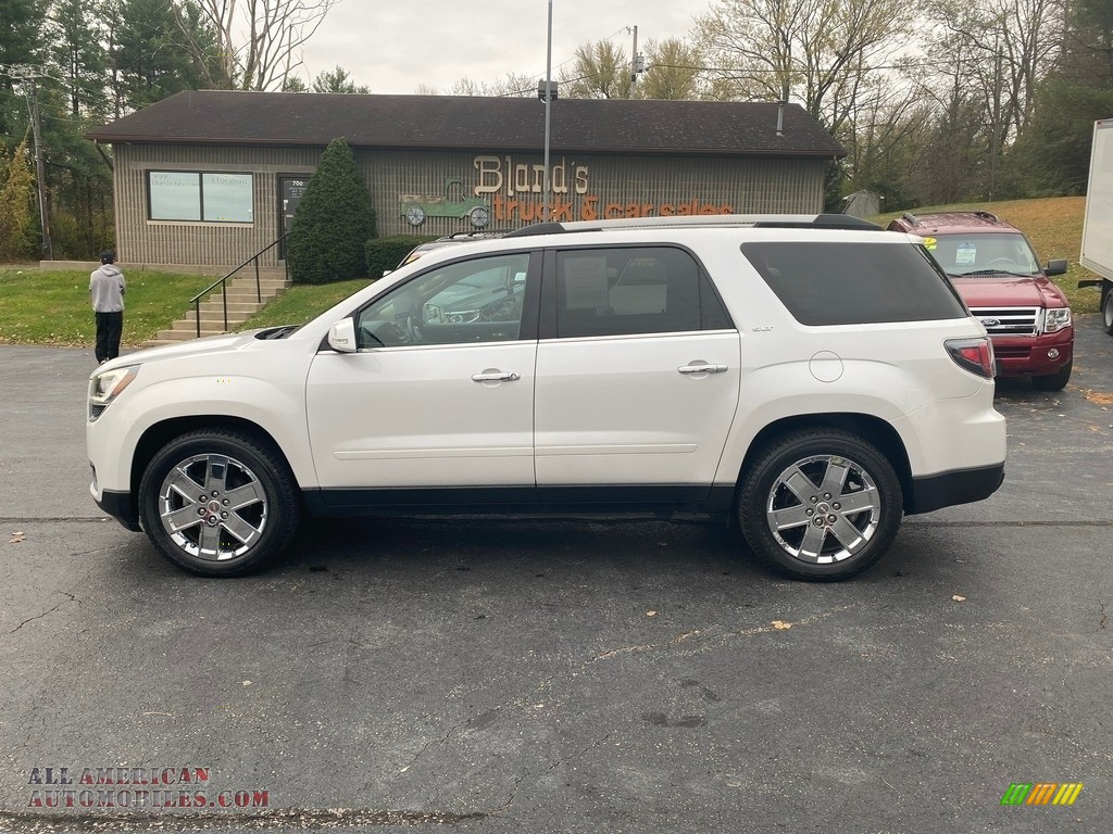 2017 Acadia Limited AWD - White Frost Tricoat / Dark Cashmere photo #1
