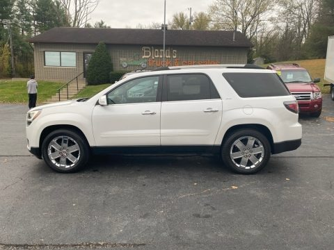 White Frost Tricoat 2017 GMC Acadia Limited AWD