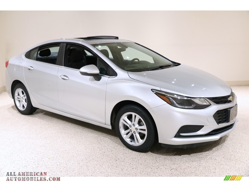 2017 Cruze LT - Silver Ice Metallic / Jet Black photo #1
