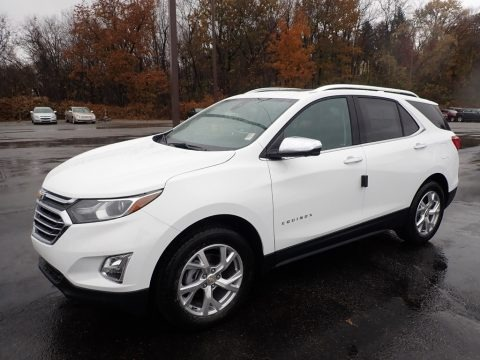 Summit White 2020 Chevrolet Equinox Premier AWD