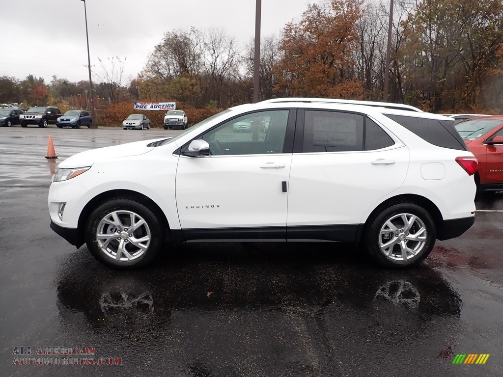 2020 Equinox Premier AWD - Summit White / Jet Black photo #2