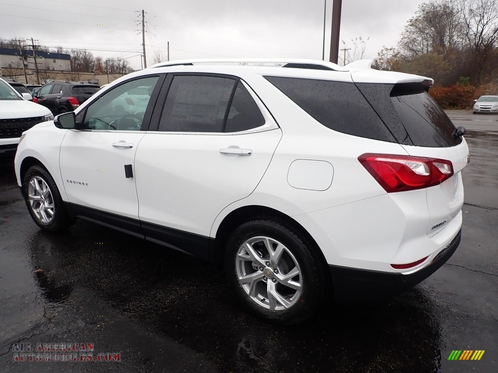 2020 Equinox Premier AWD - Summit White / Jet Black photo #3