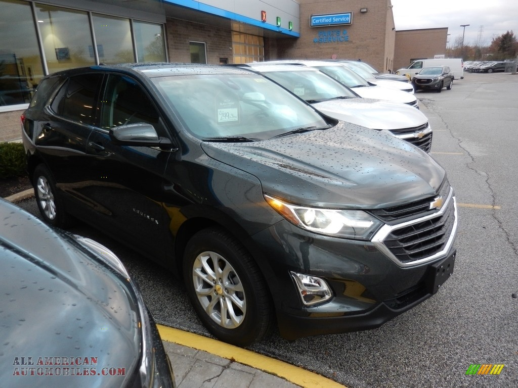 2020 Equinox LT - Nightfall Gray Metallic / Jet Black photo #3