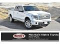 Ford F150 Platinum SuperCrew 4x4 White Platinum Metallic Tri-Coat photo #1