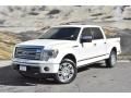 Ford F150 Platinum SuperCrew 4x4 White Platinum Metallic Tri-Coat photo #5
