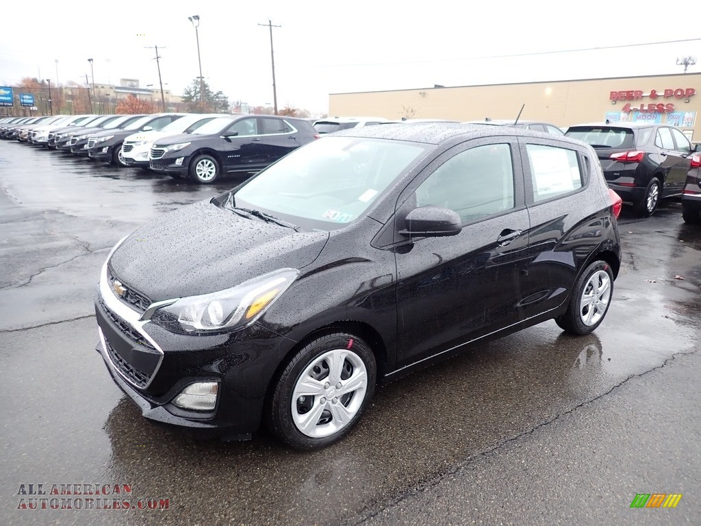 Mosaic Black Metallic / Jet Black Chevrolet Spark LS