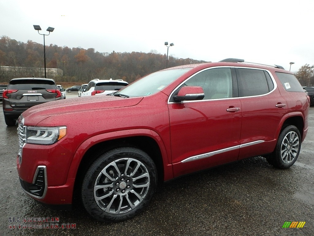 2020 Acadia Denali AWD - Red Quartz Tintcoat / Dark Galvanized/Light Shale photo #1