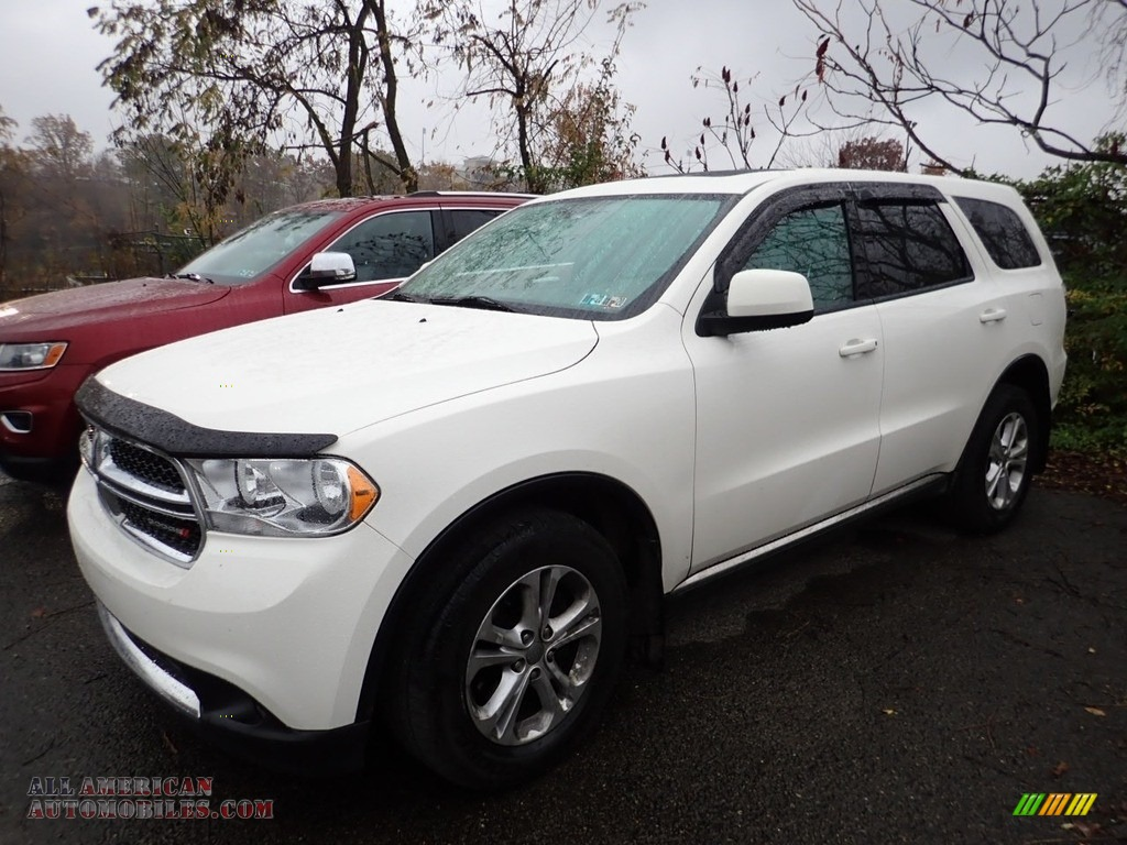2012 Durango SXT AWD - Stone White / Dark Graystone/Medium Graystone photo #1