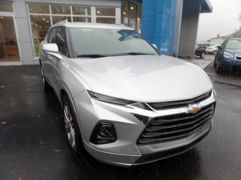 Silver Ice Metallic 2020 Chevrolet Blazer Premier AWD