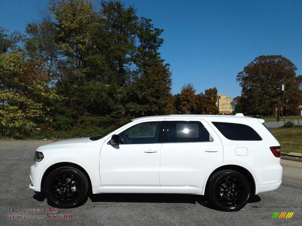 2020 Durango SXT AWD - White Knuckle / Black photo #1