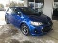 Chevrolet Sonic LT Hatchback Kinetic Blue Metallic photo #1