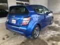 Chevrolet Sonic LT Hatchback Kinetic Blue Metallic photo #3