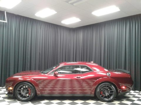 Octane Red Pearl 2019 Dodge Challenger SRT Hellcat Redeye Widebody