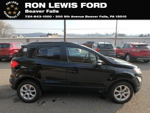 Shadow Black 2020 Ford EcoSport SE