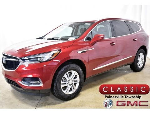 Red Quartz Tintcoat 2020 Buick Enclave Preferred