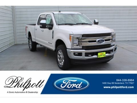 White Platinum 2019 Ford F250 Super Duty King Ranch Crew Cab 4x4