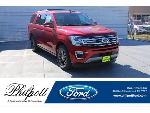 Rapid Red 2020 Ford Expedition Limited