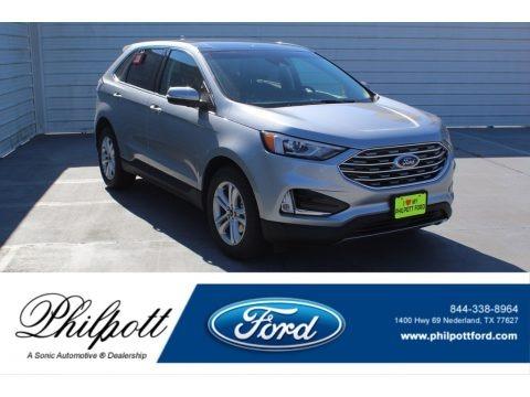 Iconic Silver Metallic 2020 Ford Edge SEL