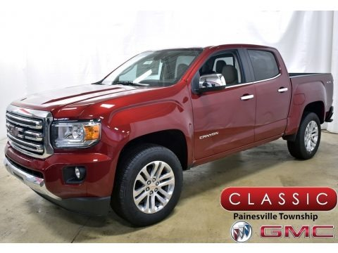 Red Quartz Tintcoat 2020 GMC Canyon SLT Crew Cab 4x4