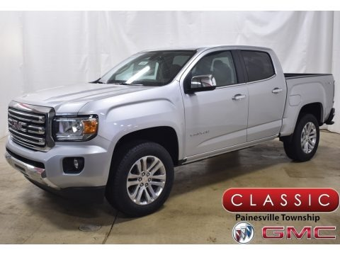 Quicksilver Metallic 2020 GMC Canyon SLT Crew Cab 4x4