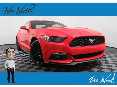 Race Red 2015 Ford Mustang EcoBoost Coupe