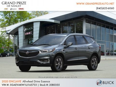 Dark Slate Metallic 2020 Buick Enclave Essence AWD