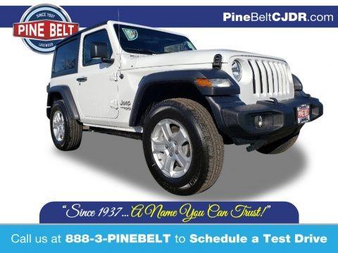 Bright White 2020 Jeep Wrangler Sport 4x4